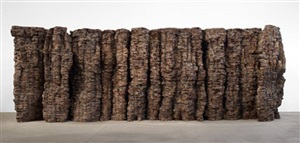 blackened word by ursula von rydingsvard