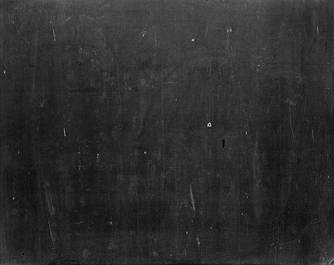 untitled (chalkboard 12) by matthew gamber