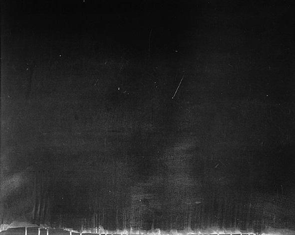 untitled (chalkboard 16) by matthew gamber