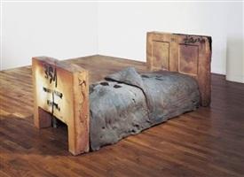 llit obert / open bed by antoni tàpies