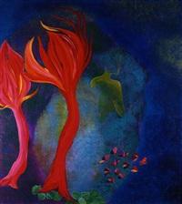 butterflies in flight by cristina melotti