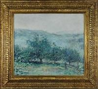misty rain (sold) by robert reid