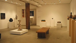 exhibition view by robert arneson