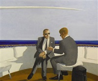 soft rumors from the gulf stream by julio larraz