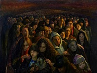 crowd 1 by steven assael