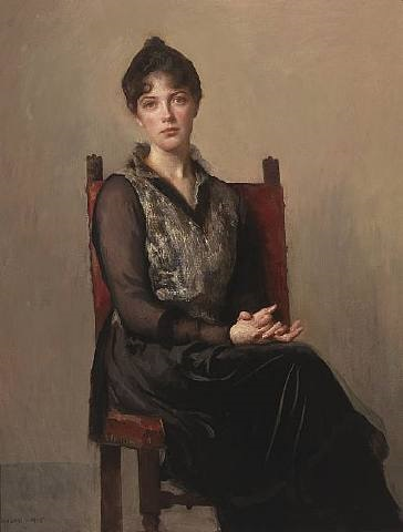 my daughter josephine by edmund charles tarbell