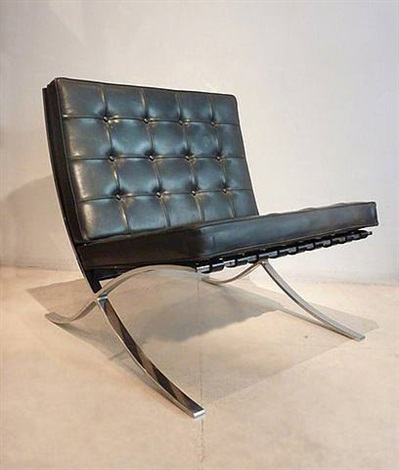 chauffeuse barcelona by ludwig mies van der rohe