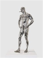 buck as an object of virtue by marc quinn