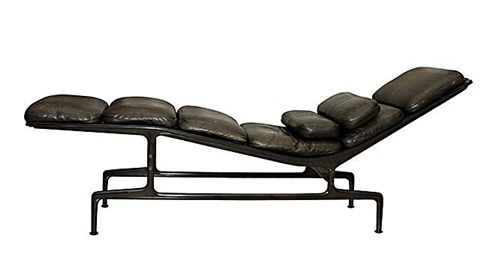"charles and ray eames ""billy wilder"" chaise by charles and ray eames"