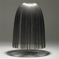 stainless steel willow sculpture by harry bertoia