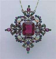 arts & crafts pendant/brooch by sibyl dunlop