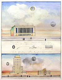 federal projects by saul steinberg