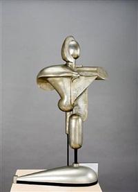 abstrakte figur (freiplastik g) by oskar schlemmer