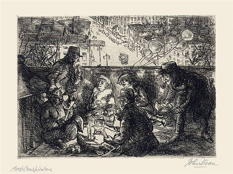 arch conspirators by john french sloan