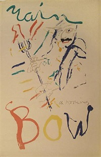 rainbow, devil at the keyboard by willem de kooning