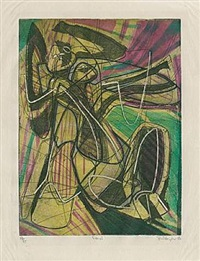 danae by stanley william hayter