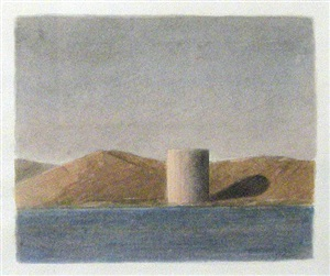 study for storage tank by gordon cook