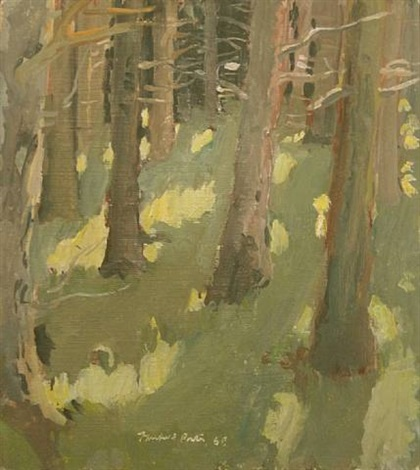 woods by fairfield porter