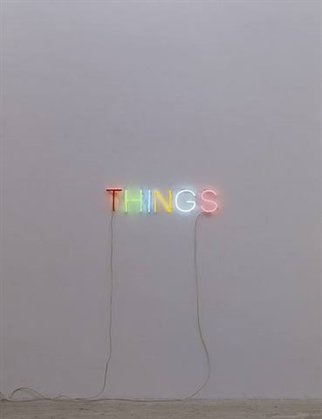 work no. 896 things by martin creed