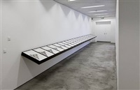 installation view of geographical analogies by cyprien gaillard