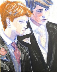 prince william and harry by elizabeth peyton