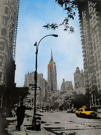 empire state nyc by nick walker