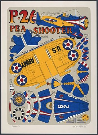p-26 pea shooter by malcolm morley