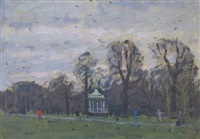 hyde park bandstand by ken howard