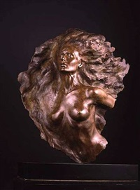 ex nihilo, fragment no. 2, full scale by frederick hart