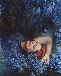 sian with bluebells by neeta madahar