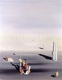 le grand nacré by yves tanguy