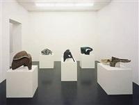 installation view, galerie daniel buchholz 2006 by vincent fecteau