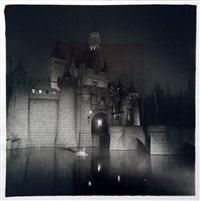 castle in disneyland by diane arbus