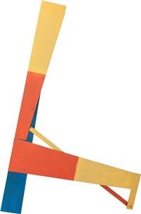 mantis (two-piece work) by lucio pozzi