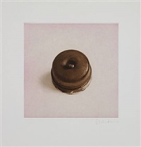 untitled 11, from twelve objects, twelve etchings by rachel whiteread