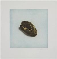 untitled 12, from twelve objects, twelve etchings by rachel whiteread