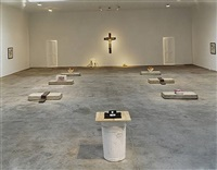 installation view (matthew marks gallery, new york) by robert gober