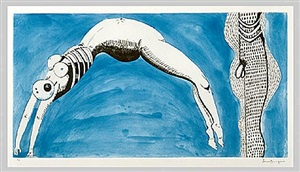 triptych for the red rooms (detail) by louise bourgeois