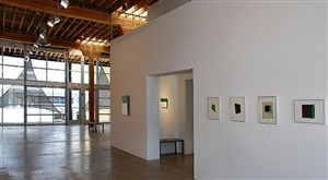 gallery view of tony delap: recent paintings and magic drawings