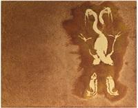 cisne y pescados i by francisco toledo