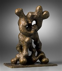 sketch for benediction ii by jacques lipchitz