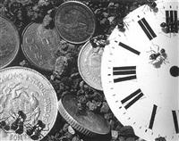 untitled (time and money) by david wojnarowicz