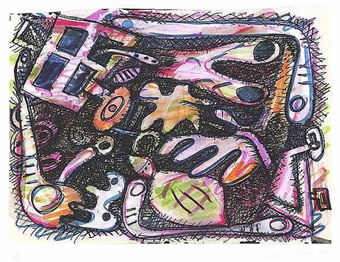 untitled, from the doctors of the world collection by elizabeth murray