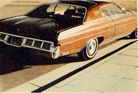 '71 caprice by robert bechtle