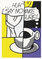 ...huh? by roy lichtenstein