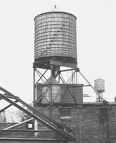 water tower, new york city: 47 crosby st. by bernd and hilla becher