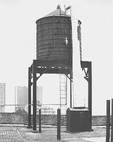 water tower, new york city: 41 north st. by bernd and hilla becher