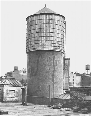 <!--43-->water tower, new york city: 155 wooster st. by bernd and hilla becher