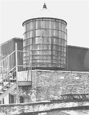 <!--45-->water tower, new york city: broadway / spring st. by bernd and hilla becher