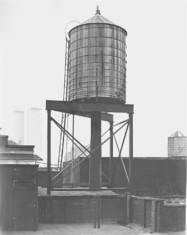 water tower, new york city: crosby / houston st. by bernd and hilla becher